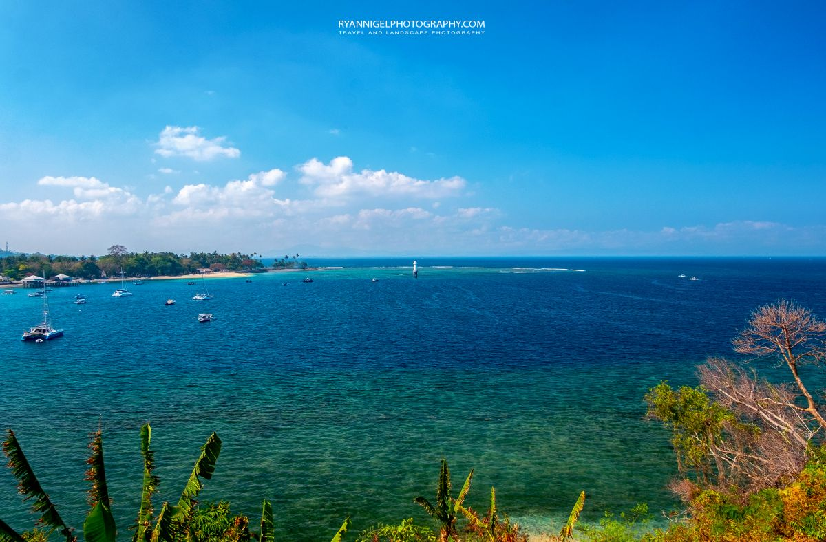 View on Senggigi Beach/Bay West Lombok