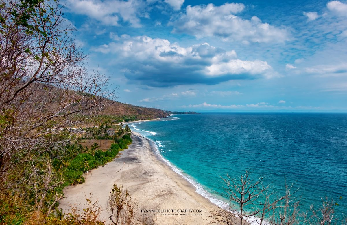 View on Lendang Luar Beach West Lombok