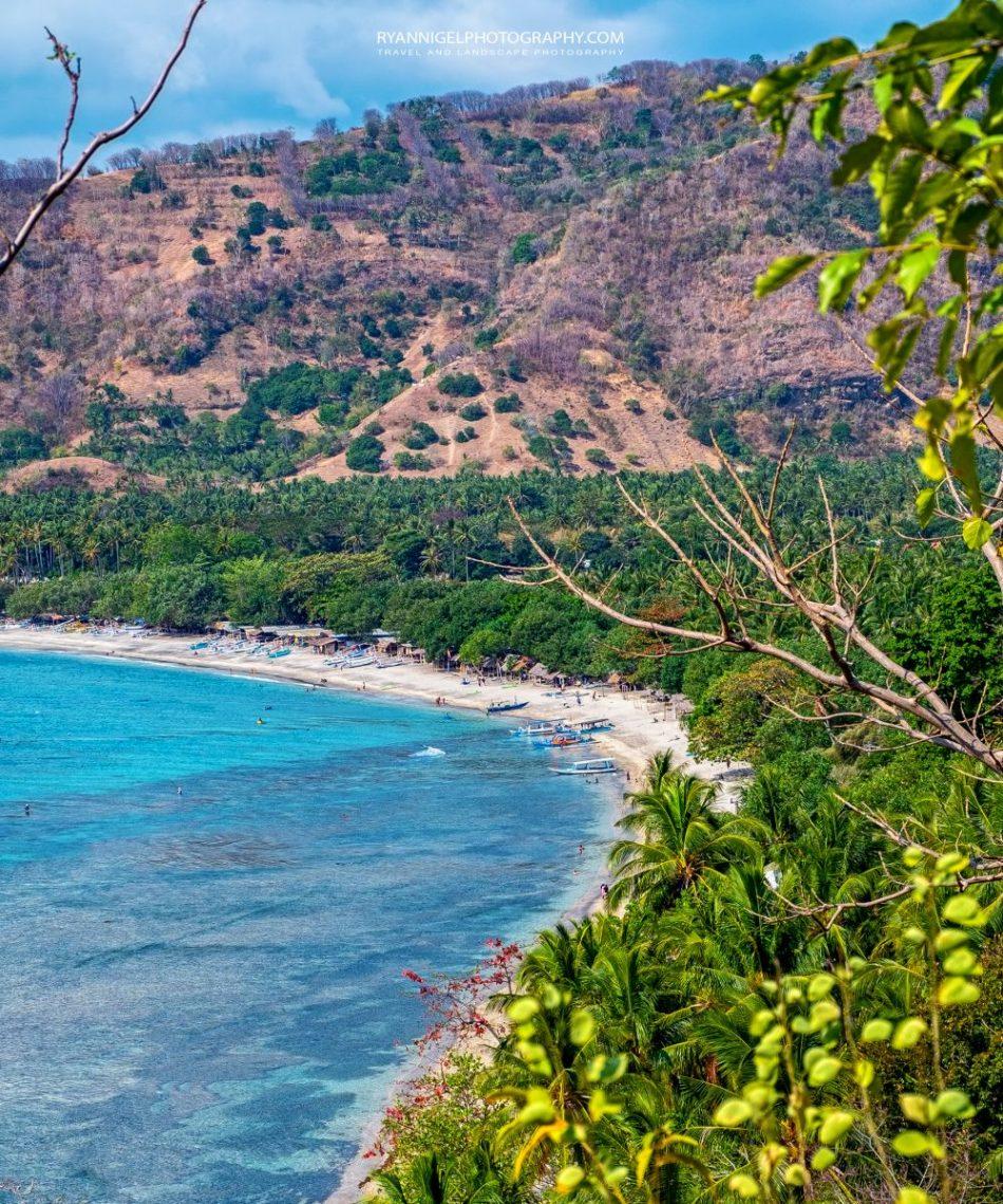 View on Nipa Beach West Lombok
