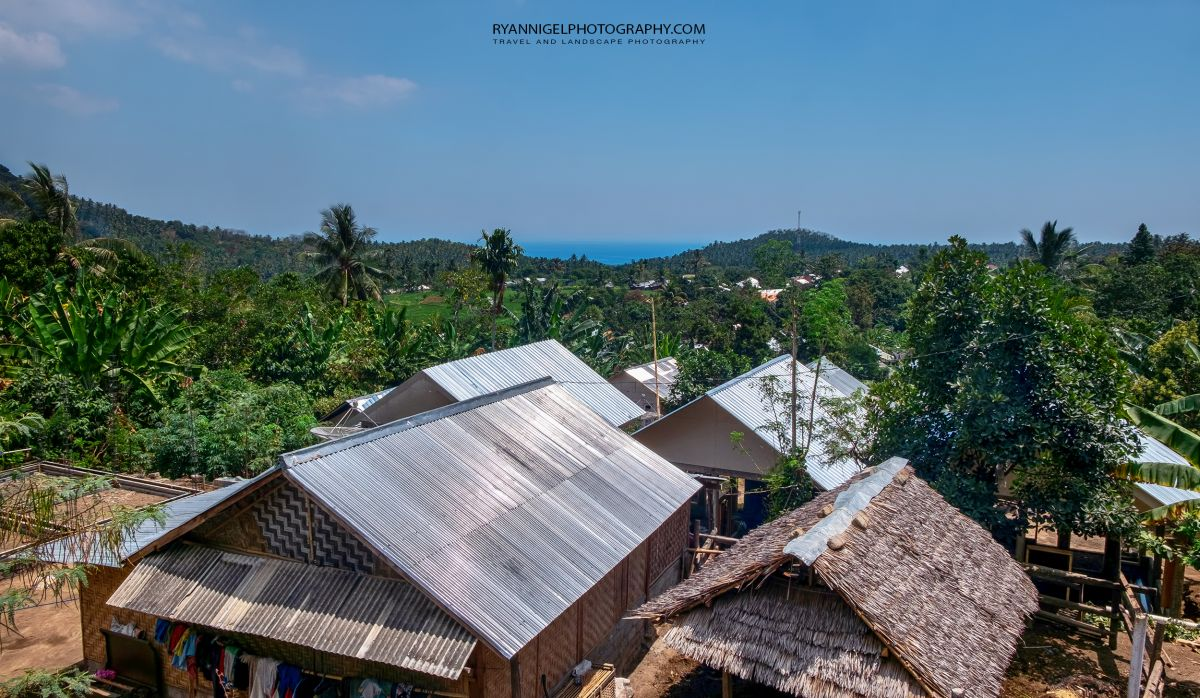 Small kampong (Village) rebuild after the 2018 Earthquake - North Lombok