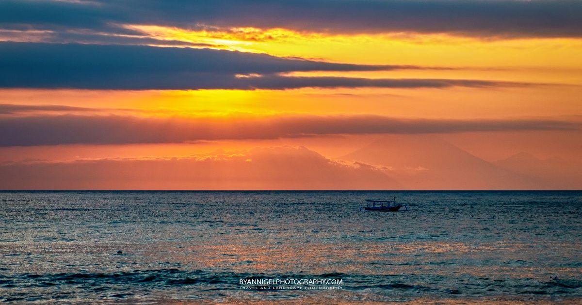 Sunset at Nipa Beach West Lombok