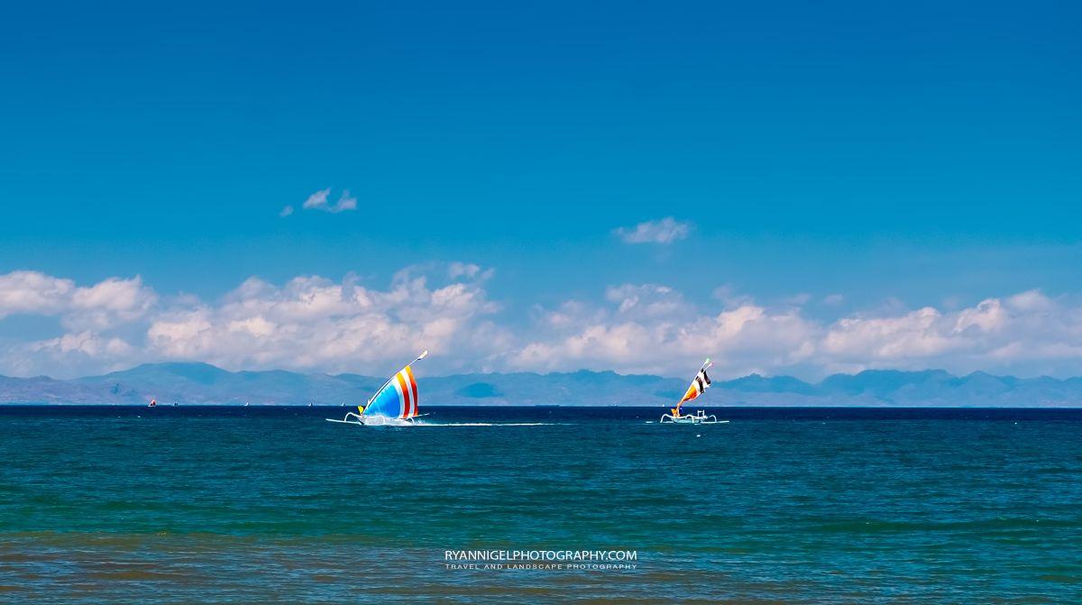Views from Ampanan Beach West Lombok