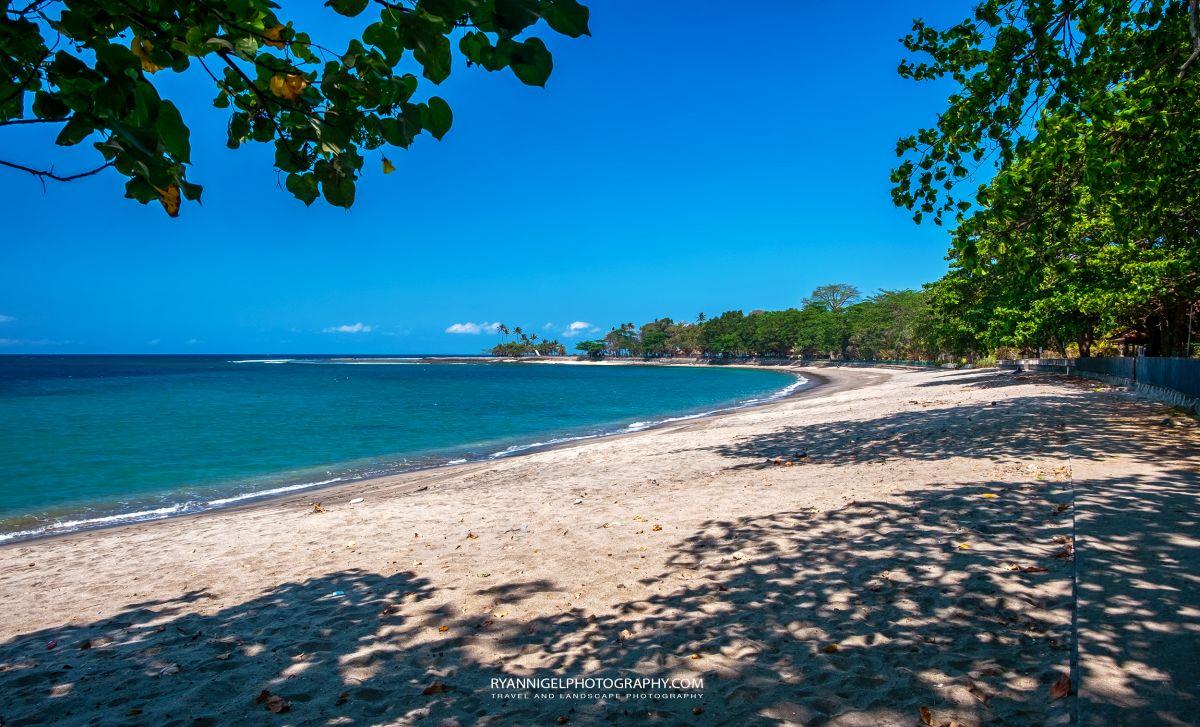 The beach next to Senggigi Beach West Lombok