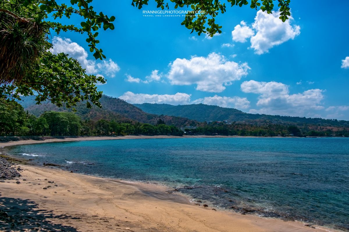 The beach next to Senggigi Beach West Lombok
