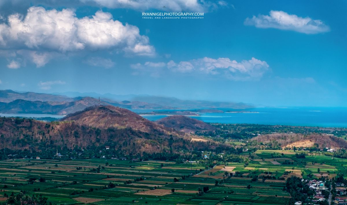 View from Bukit Idung West Lombok