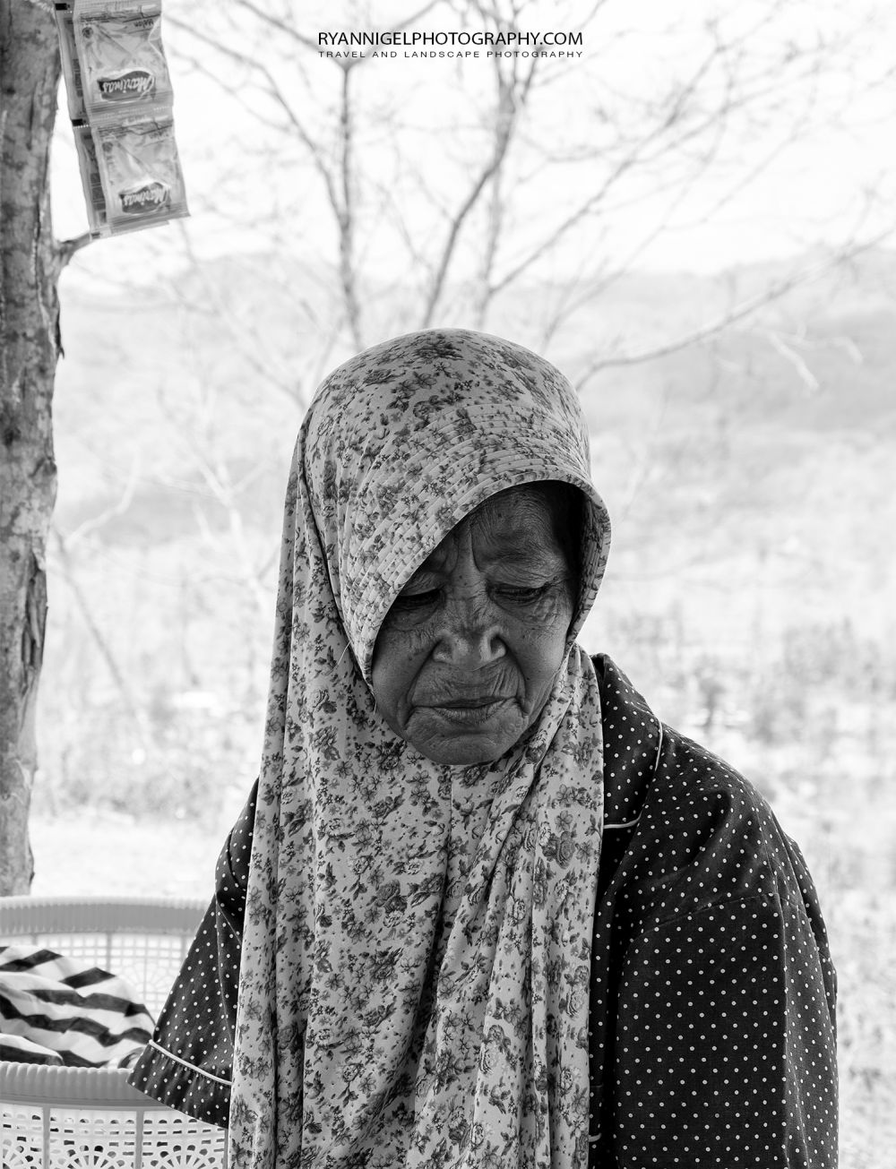 Warung seller at Bukit Idung West Lombok