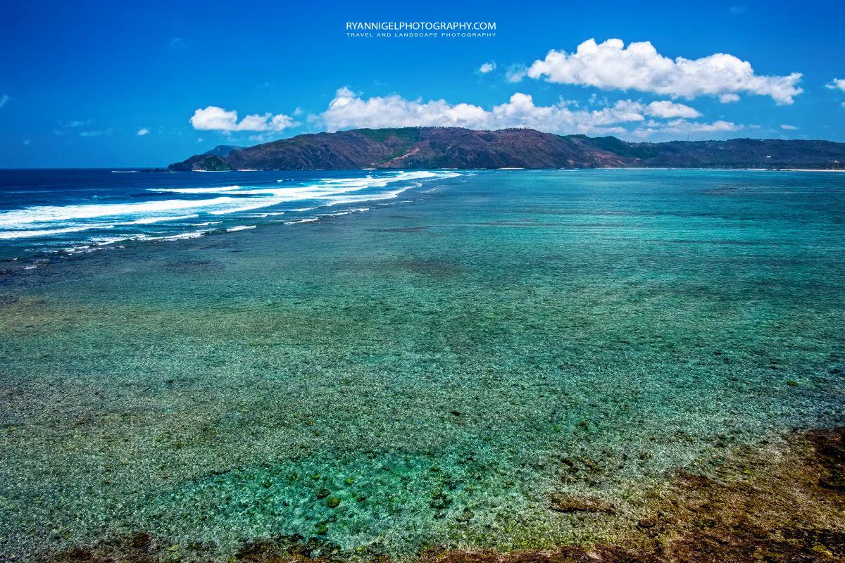 At the end of Mandalika Beach, Koeta South Lombok
