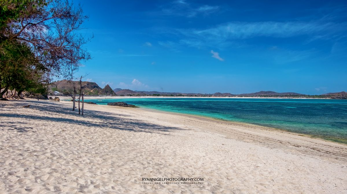 View on Pantai Aan (Aan Beach) Koeta South Lombok