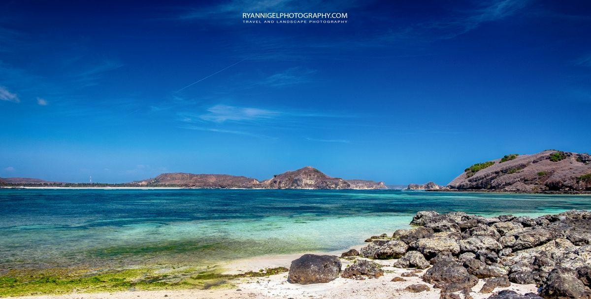 View on Pantai Aan (Aan Beach) Koeta South Lombok