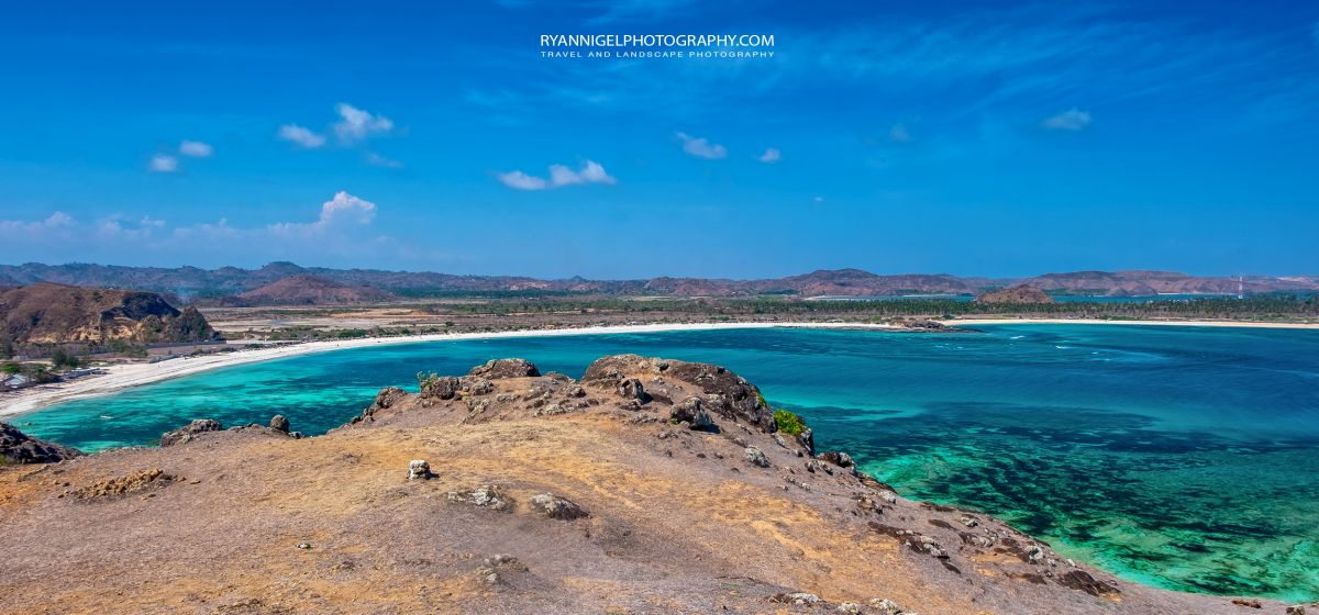 View on Aan Beach - Koeta, South Lombok