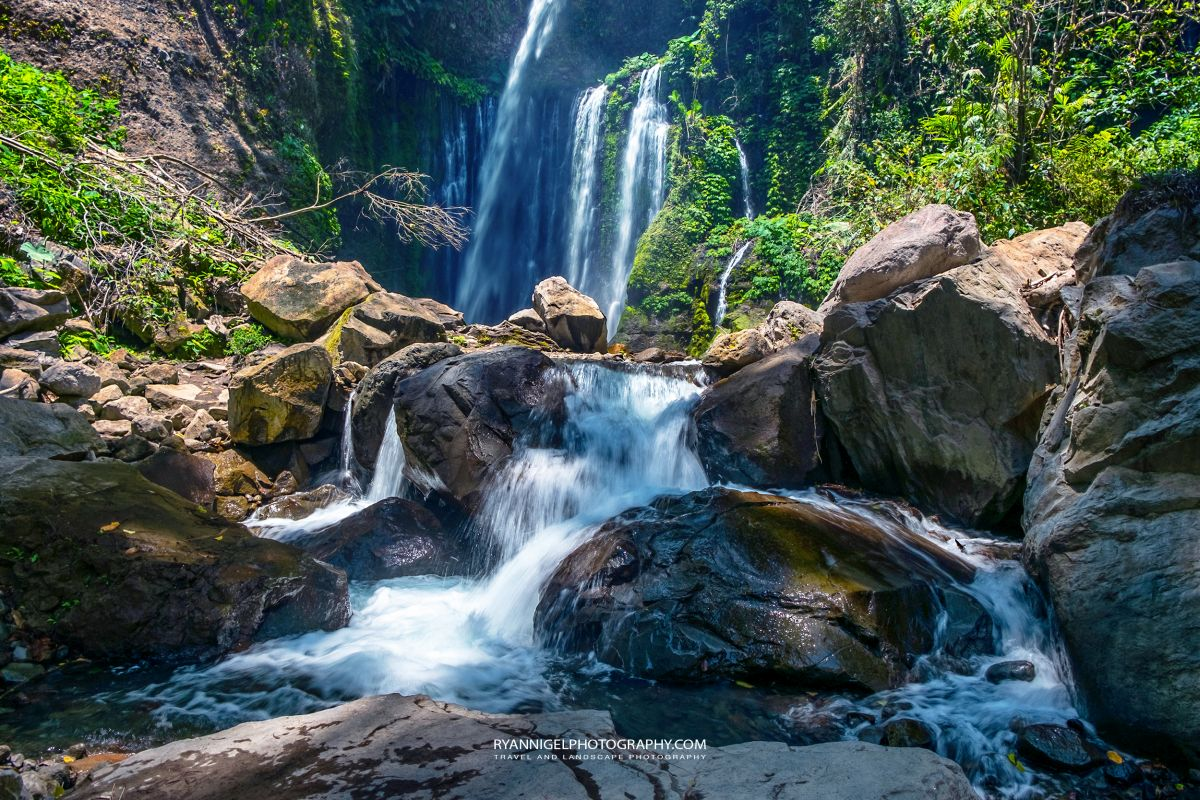 Tiu Kelep Waterfall Senaru North Lombok