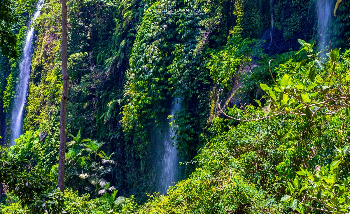 Sendang Gile Waterfall Senaru North Lombok