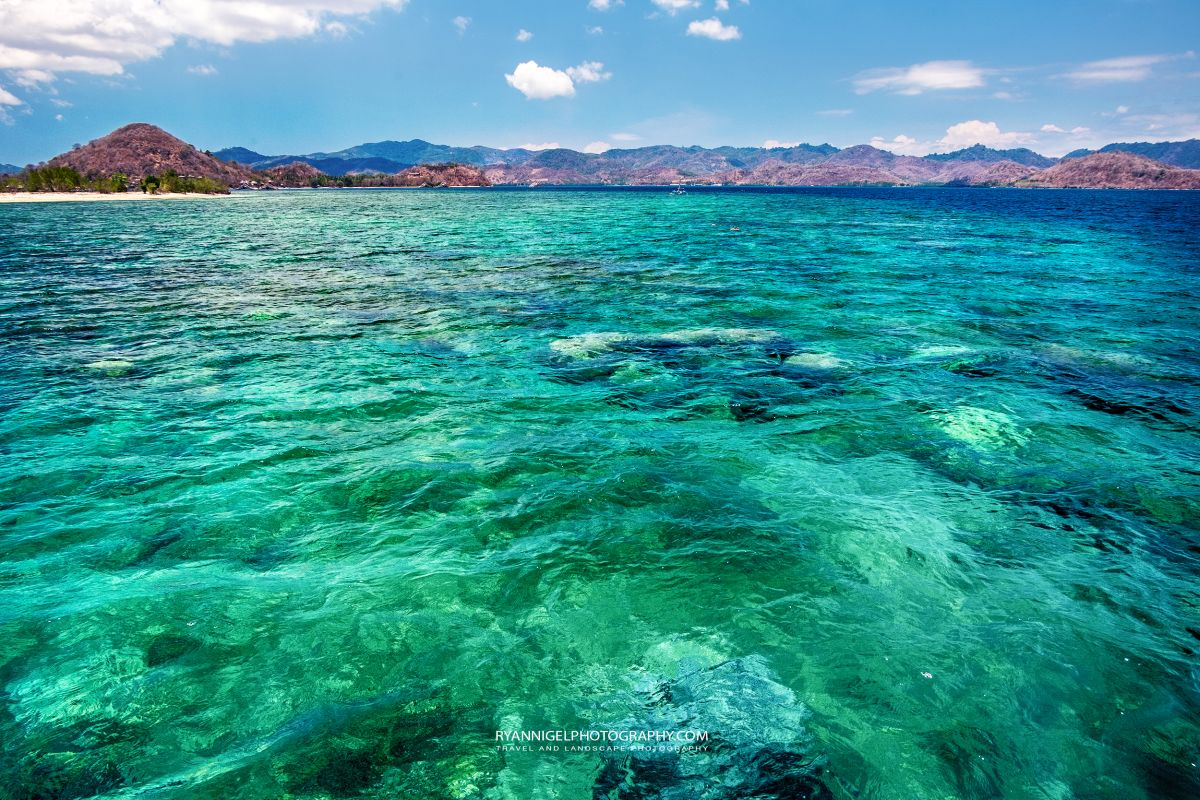 Gili Gede Clear waters.... South West Lombok