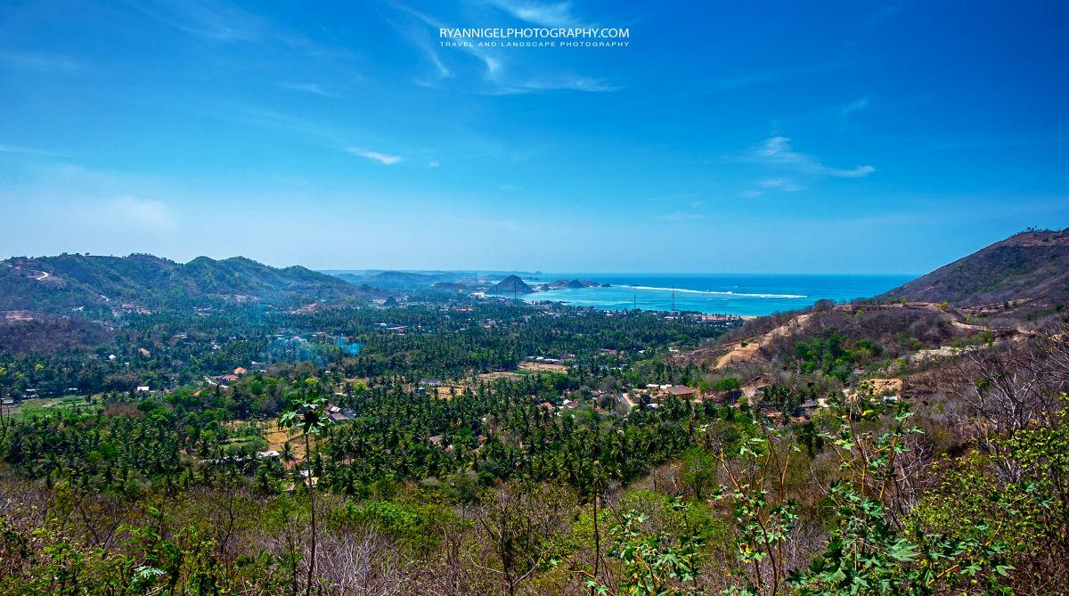 View on Mandalika Beach Koeta South Lombok