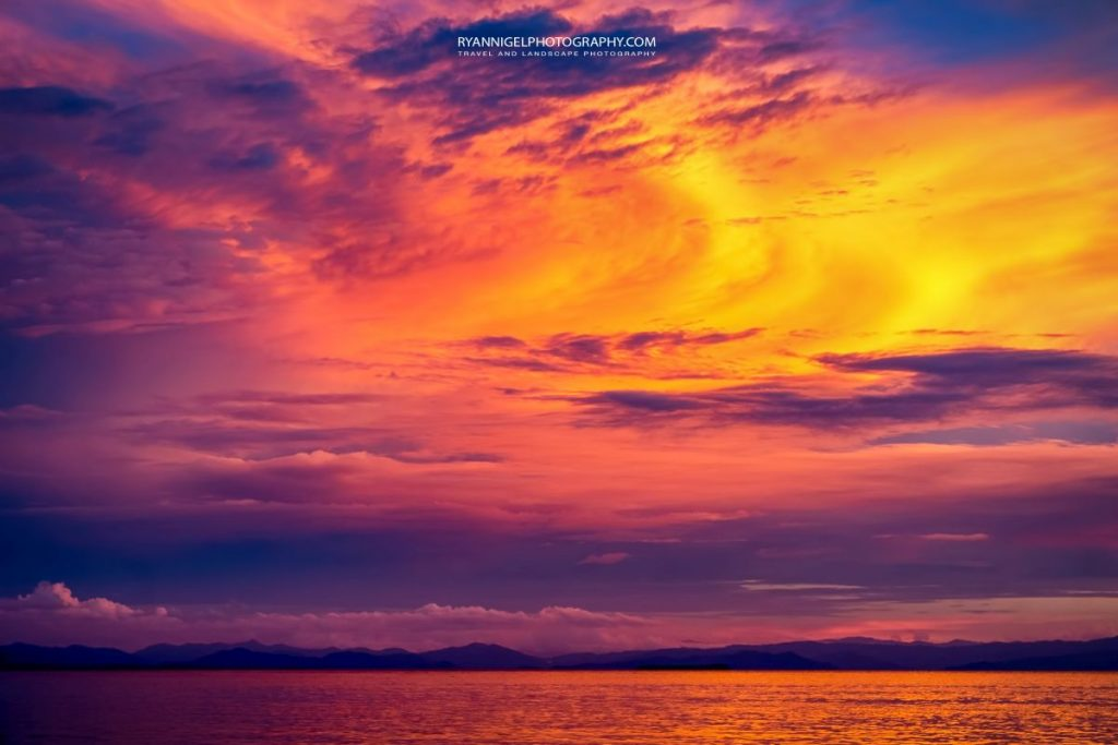 raja ampat sunset kri island 2