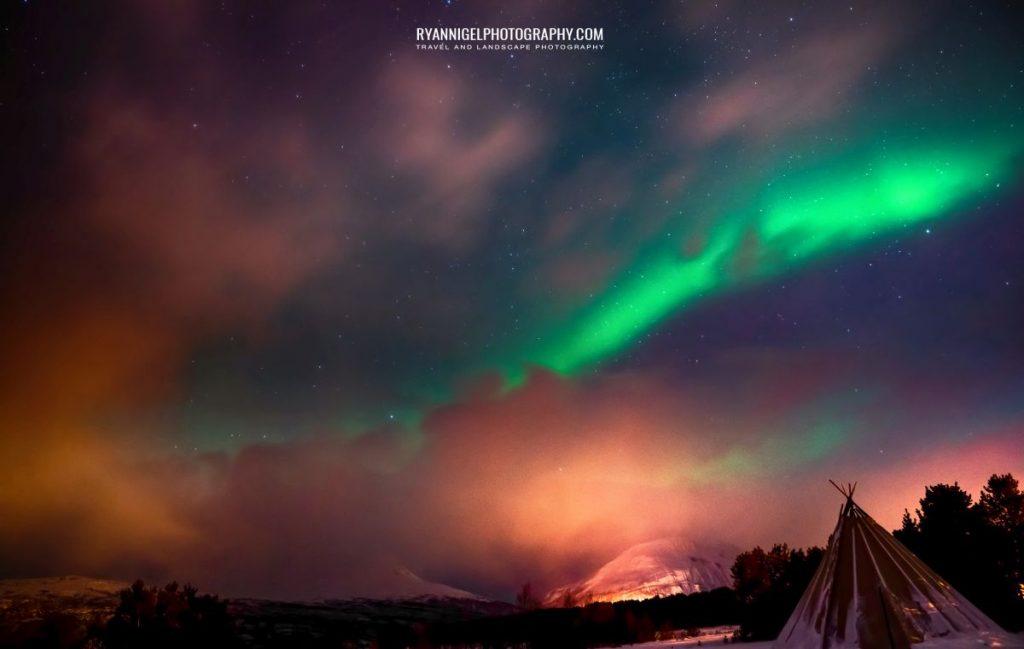 Northern Lights Troms Norway 1