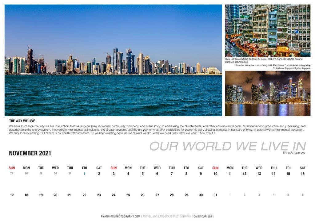 calendar 2021 A3-12